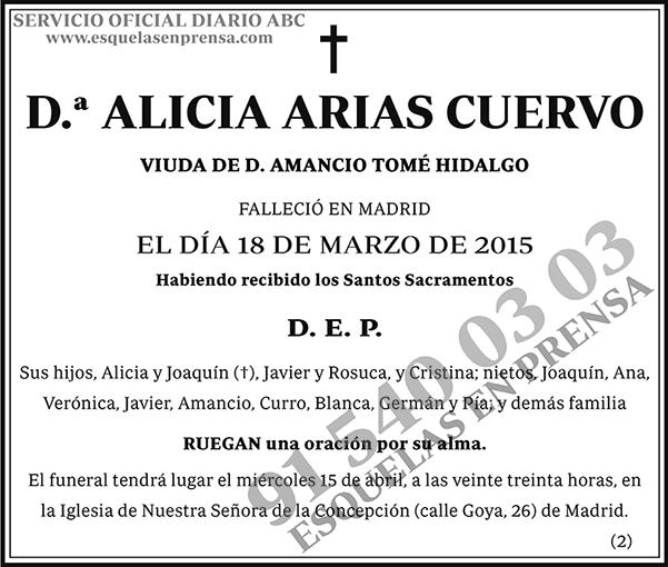 Alicia Arias Cuervo